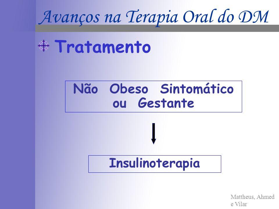 Não Obeso Sintomático ou Gestante