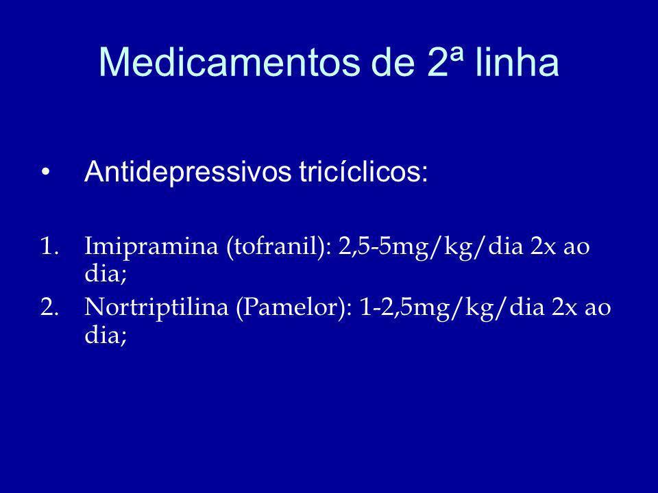 Medicamentos de 2ª linha