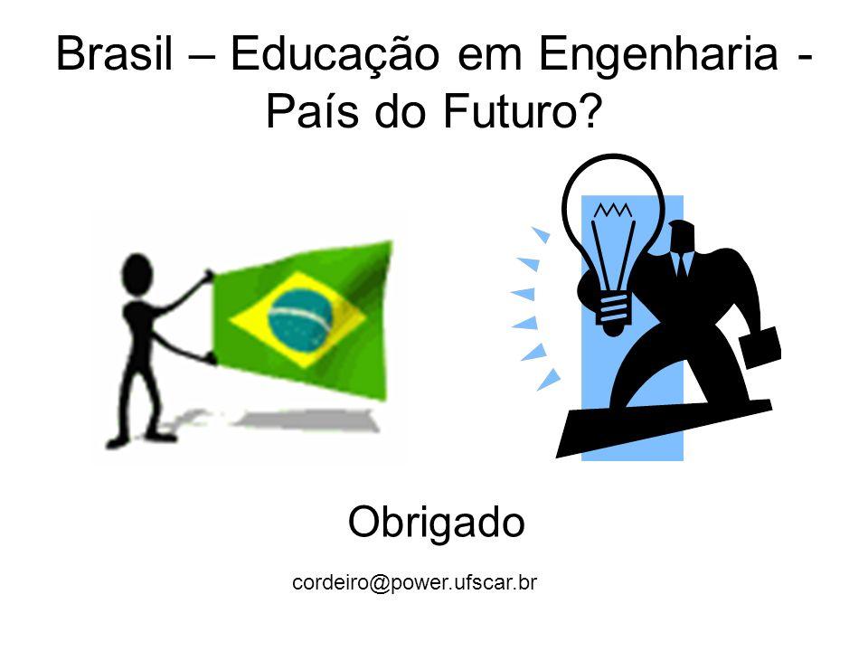 Brasil – Educação em Engenharia - País do Futuro