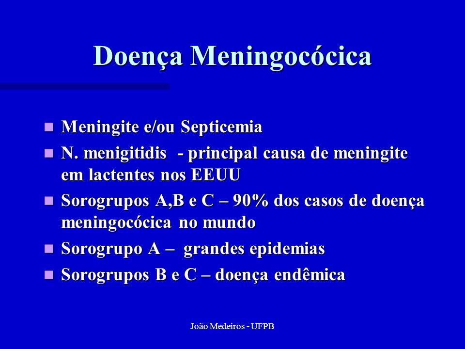 Doença Meningocócica Meningite e/ou Septicemia