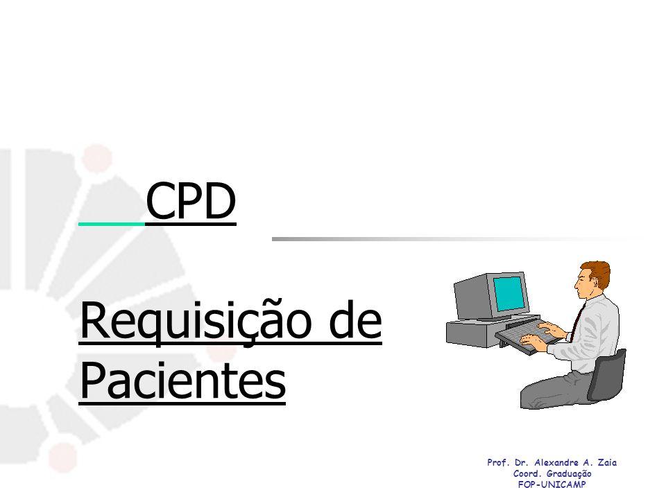 CPD Requisição de Pacientes