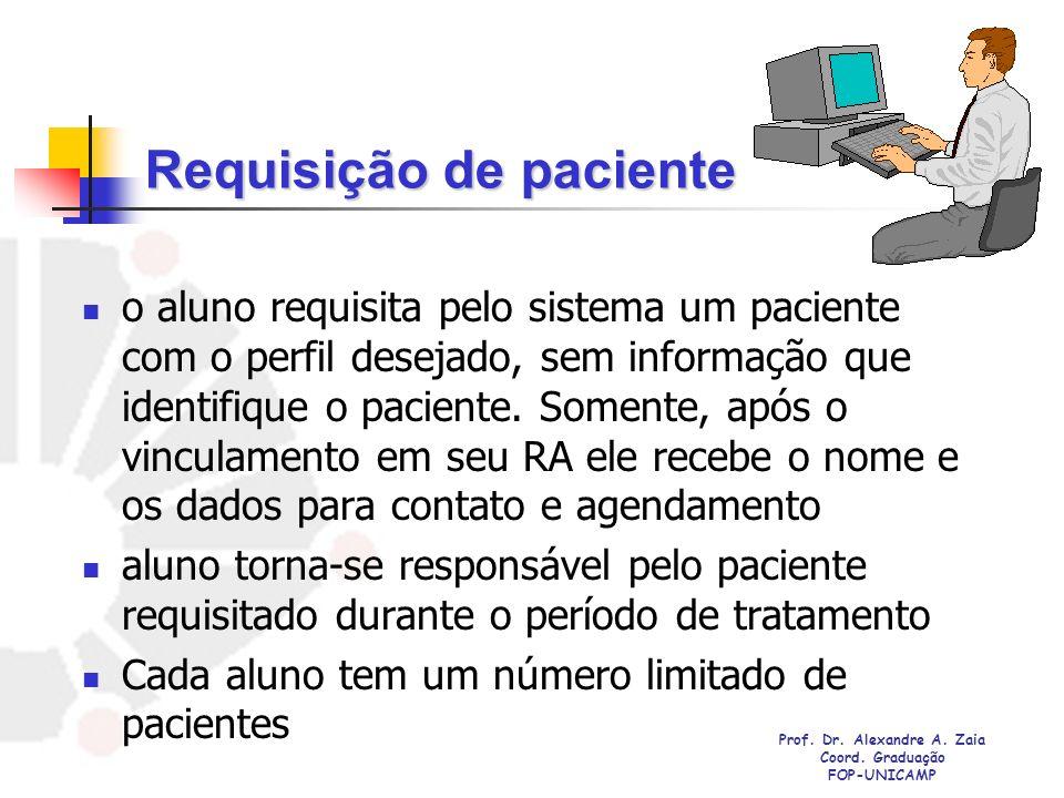 Requisição de paciente