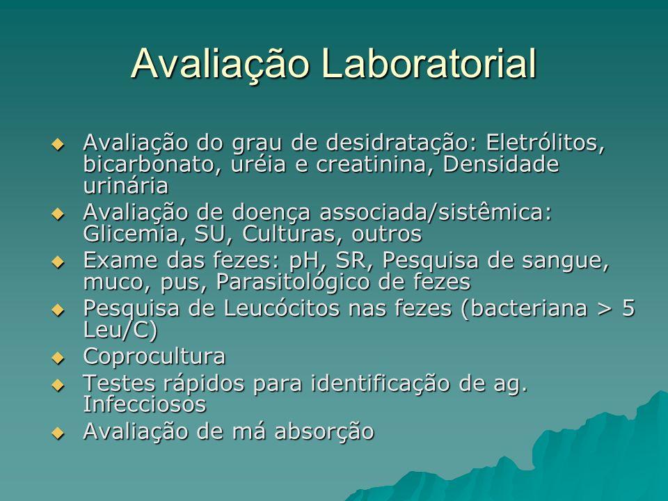 Avaliação Laboratorial