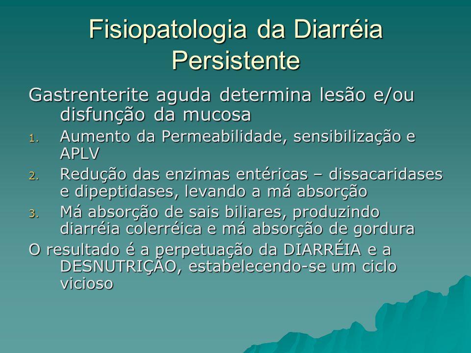 Fisiopatologia da Diarréia Persistente