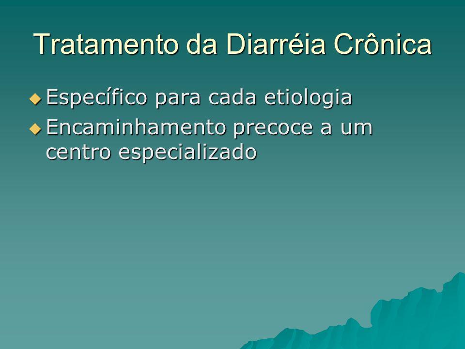 Tratamento da Diarréia Crônica