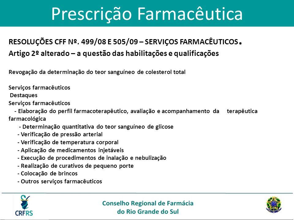 Prescrição Farmacêutica