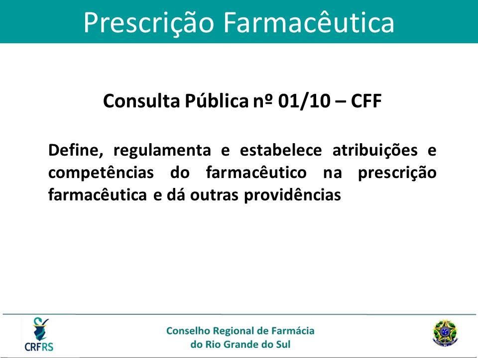 Consulta Pública nº 01/10 – CFF