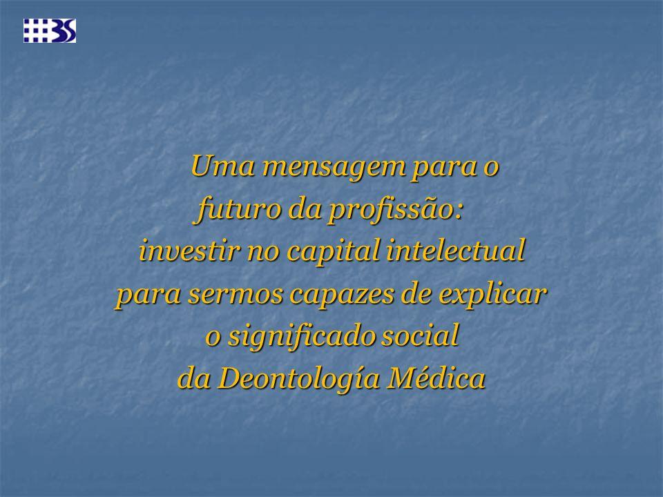 investir no capital intelectual para sermos capazes de explicar