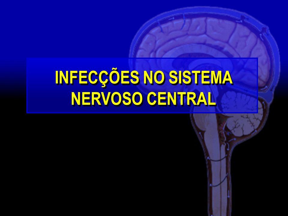 INFECÇÕES NO SISTEMA NERVOSO CENTRAL