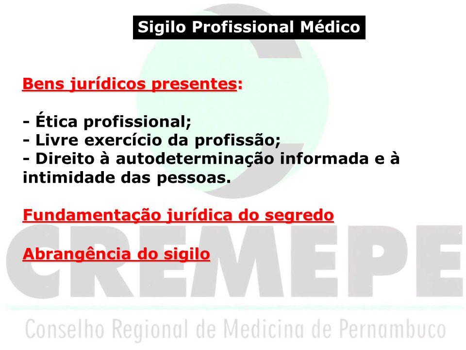 Sigilo Profissional Médico