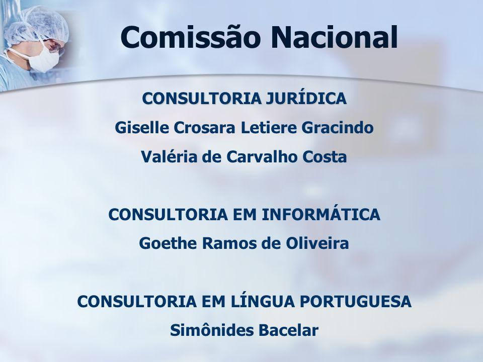 Comissão Nacional CONSULTORIA JURÍDICA