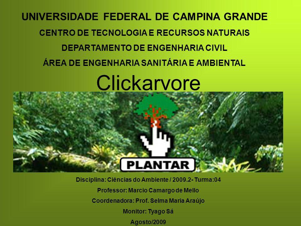 Clickarvore UNIVERSIDADE FEDERAL DE CAMPINA GRANDE
