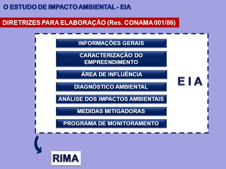 E I A RIMA O ESTUDO DE IMPACTO AMBIENTAL - EIA