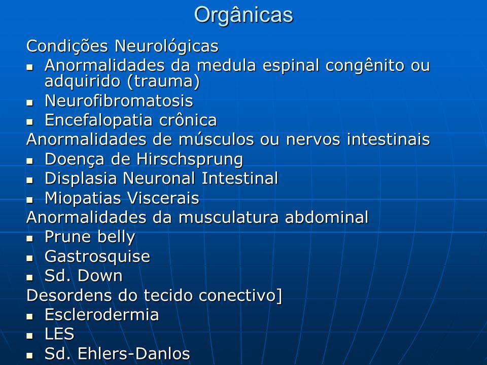Orgânicas Condições Neurológicas