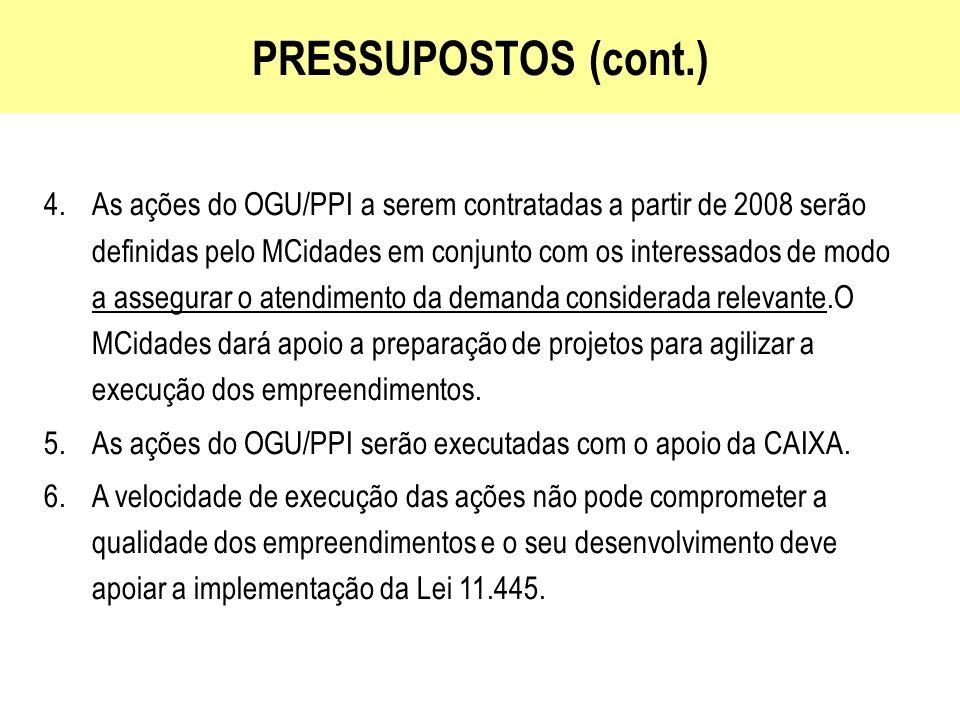 PRESSUPOSTOS (cont.)