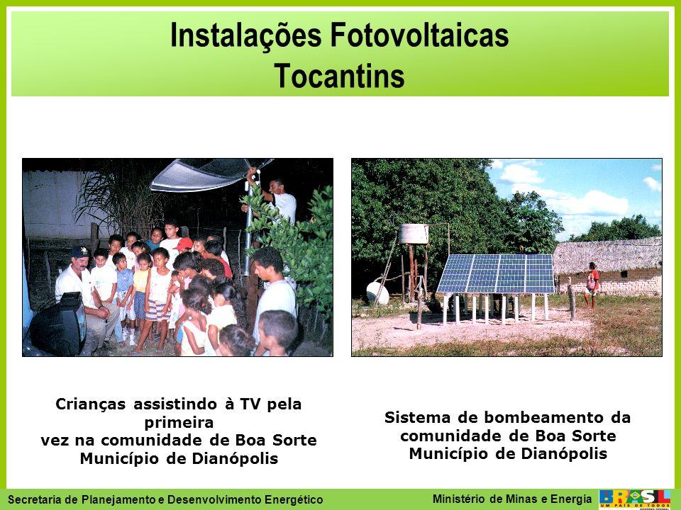 Instalações Fotovoltaicas Tocantins