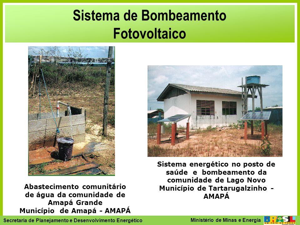Sistema de Bombeamento Fotovoltaico