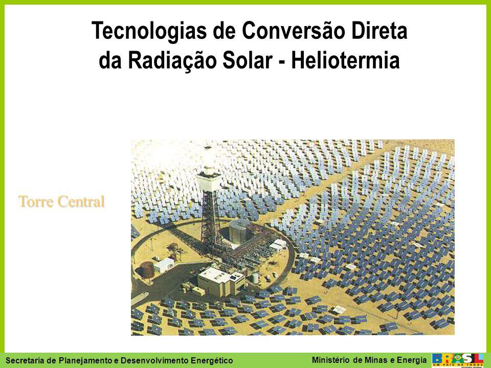 Tecnologias de Conversão Direta da Radiação Solar - Heliotermia
