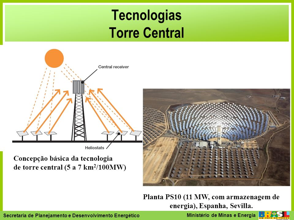 Tecnologias Torre Central