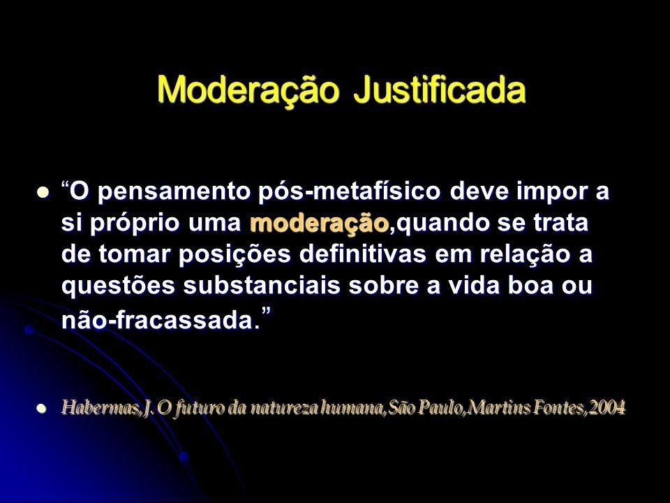Moderação Justificada