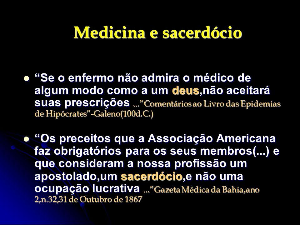 Medicina e sacerdócio