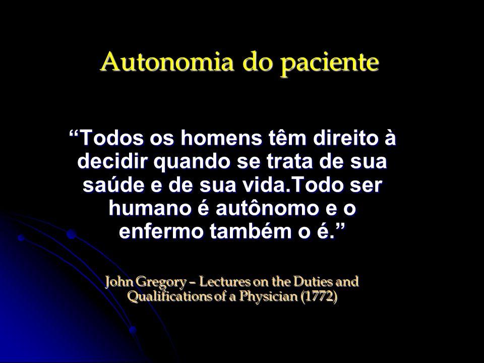 Autonomia do paciente