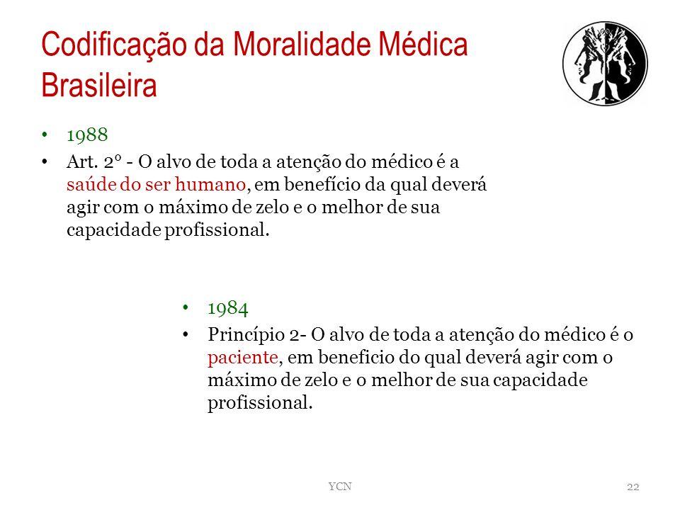 Codificação da Moralidade Médica Brasileira