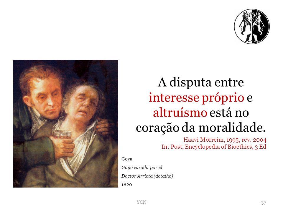 A disputa entre interesse próprio e altruísmo está no coração da moralidade.