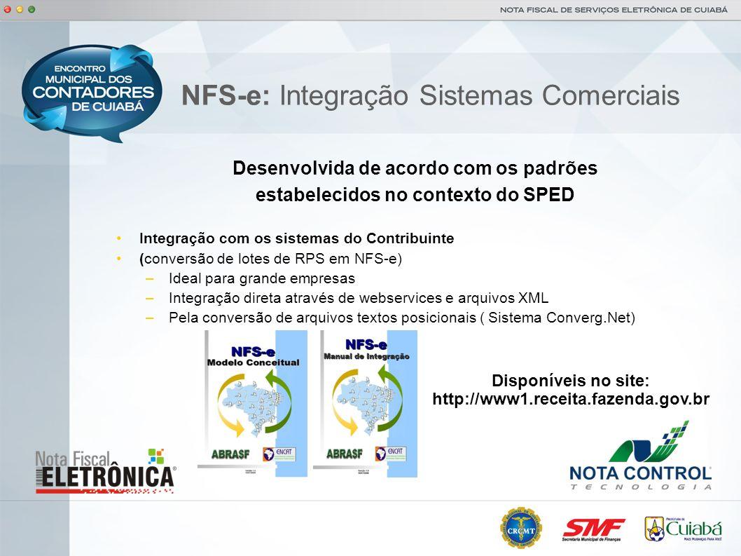 NFS-e: Integração Sistemas Comerciais