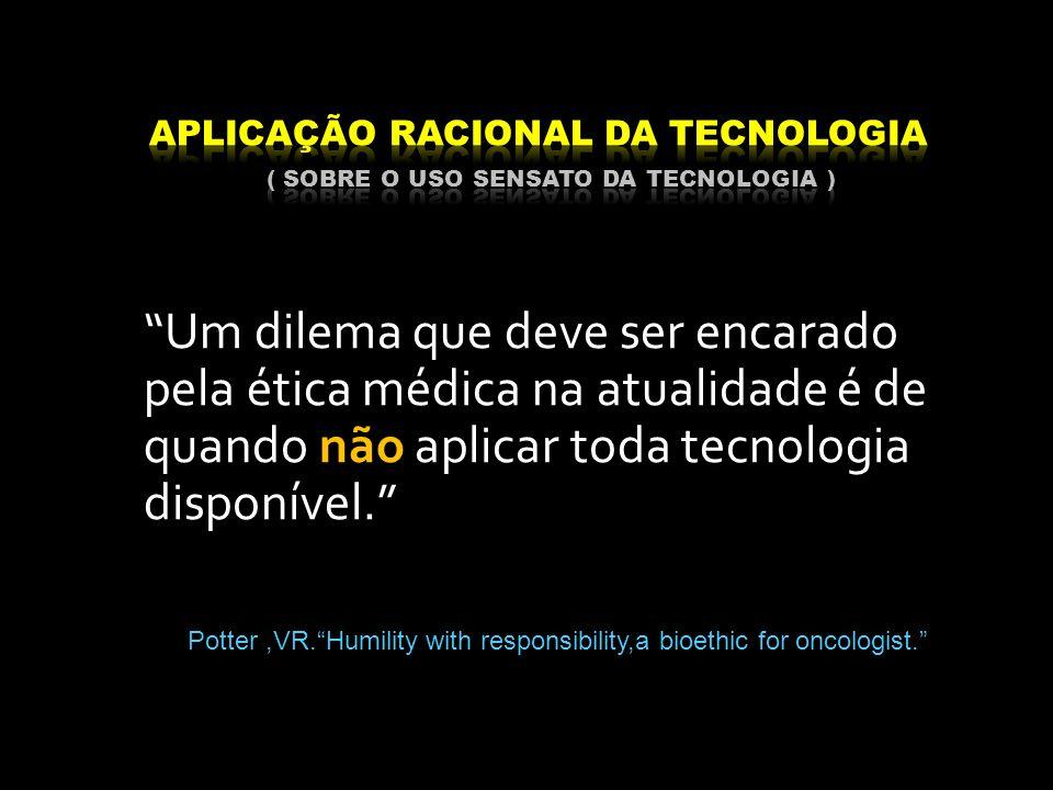 Aplicação racional da tecnologia ( sobre o uso sensato da tecnologia )