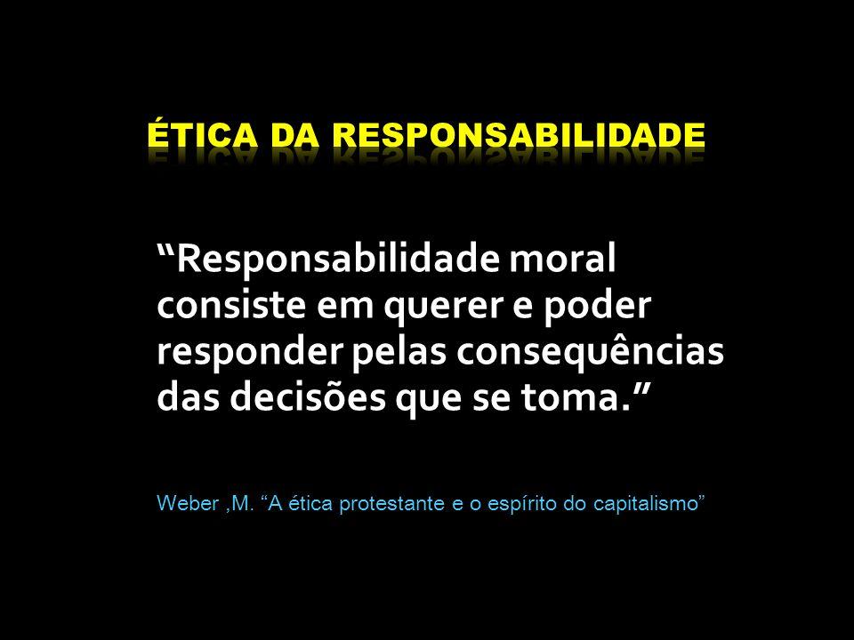 ÉTICA DA Responsabilidade