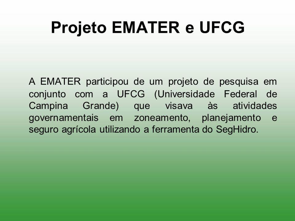 Projeto EMATER e UFCG
