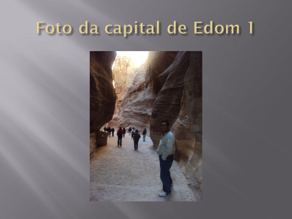 Foto da capital de Edom 1