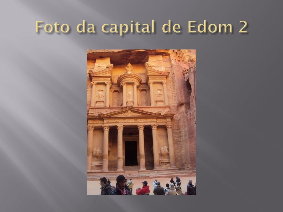 Foto da capital de Edom 2