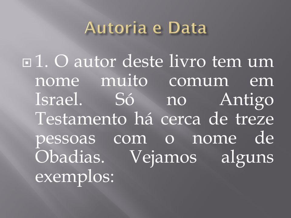 Autoria e Data