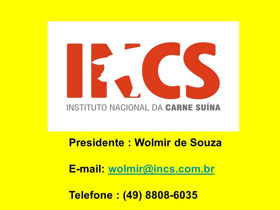 Presidente : Wolmir de Souza