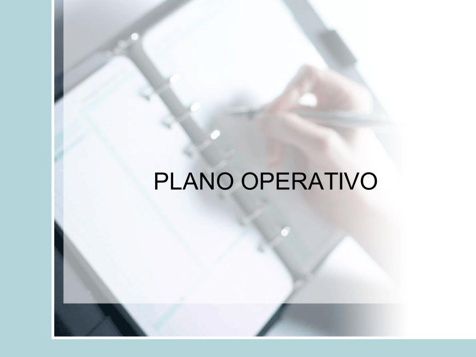 PLANO OPERATIVO