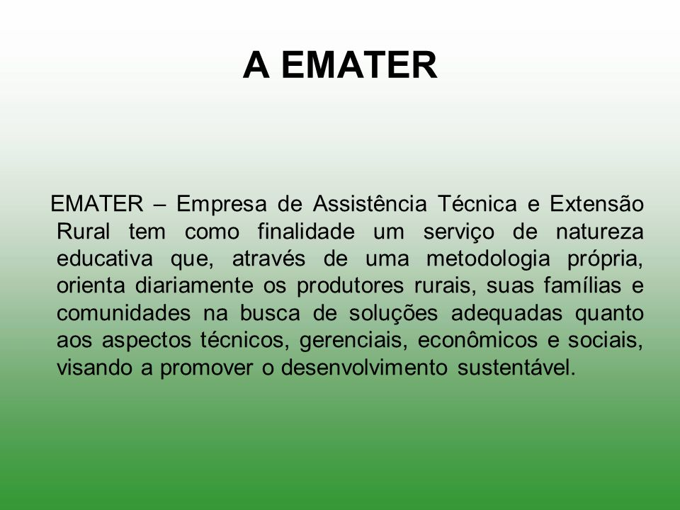 A EMATER