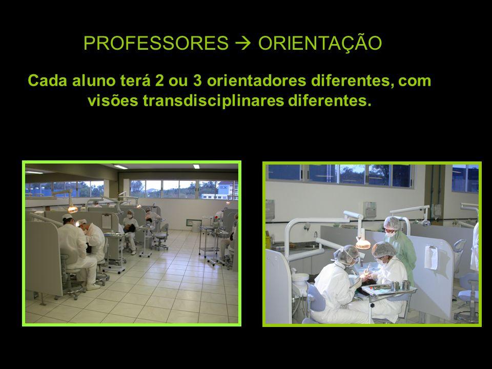 PROFESSORES  ORIENTAÇÃO