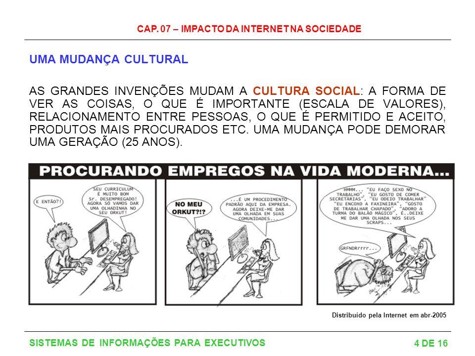 UMA MUDANÇA CULTURAL