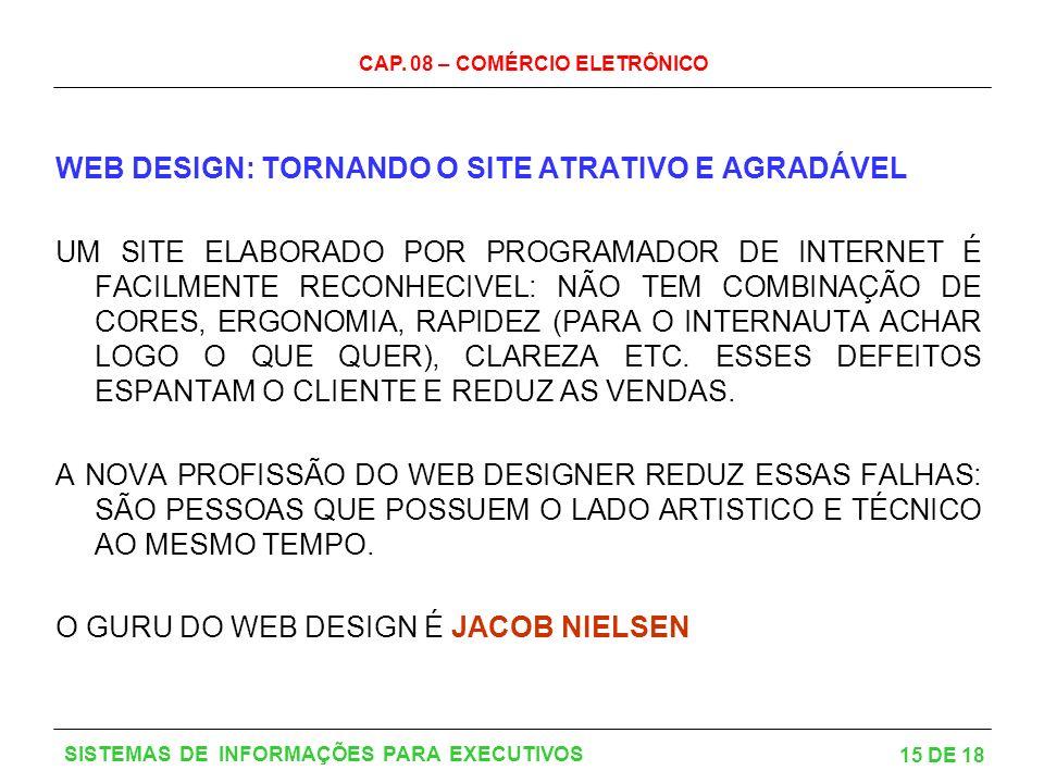 WEB DESIGN: TORNANDO O SITE ATRATIVO E AGRADÁVEL