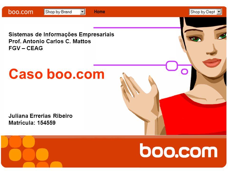 Caso boo.com Sistemas de Informações Empresariais