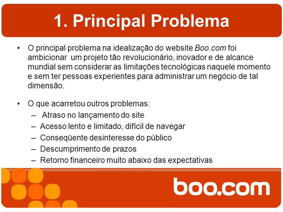 1. Principal Problema