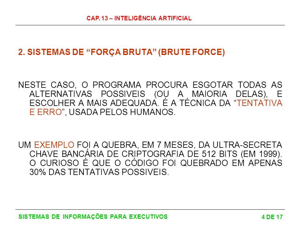2. SISTEMAS DE FORÇA BRUTA (BRUTE FORCE)