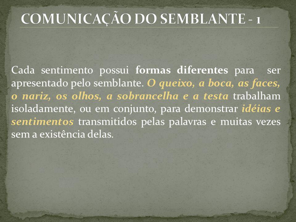 COMUNICAÇÃO DO SEMBLANTE - 1