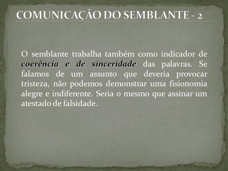 COMUNICAÇÃO DO SEMBLANTE - 2