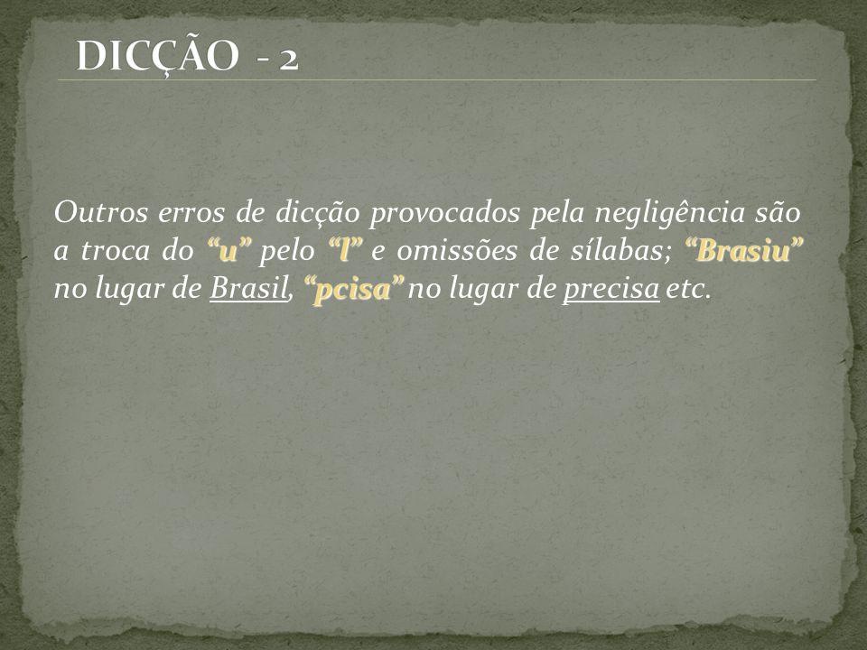 DICÇÃO - 2