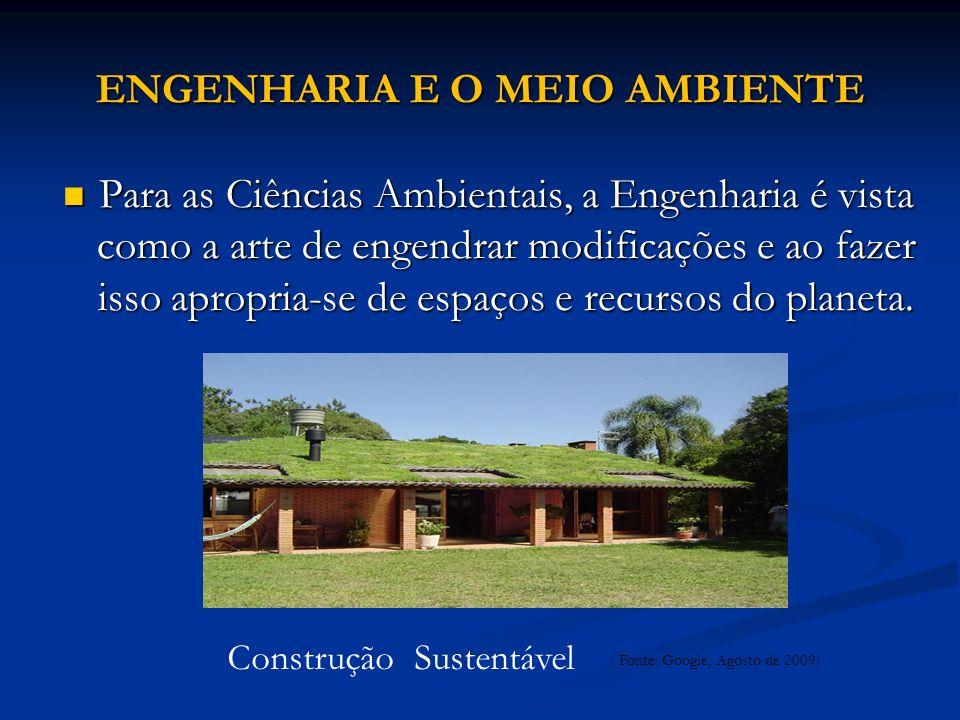 ENGENHARIA E O MEIO AMBIENTE