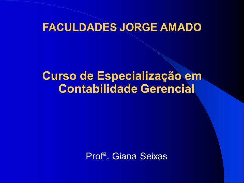 Curso de Especialização em Contabilidade Gerencial