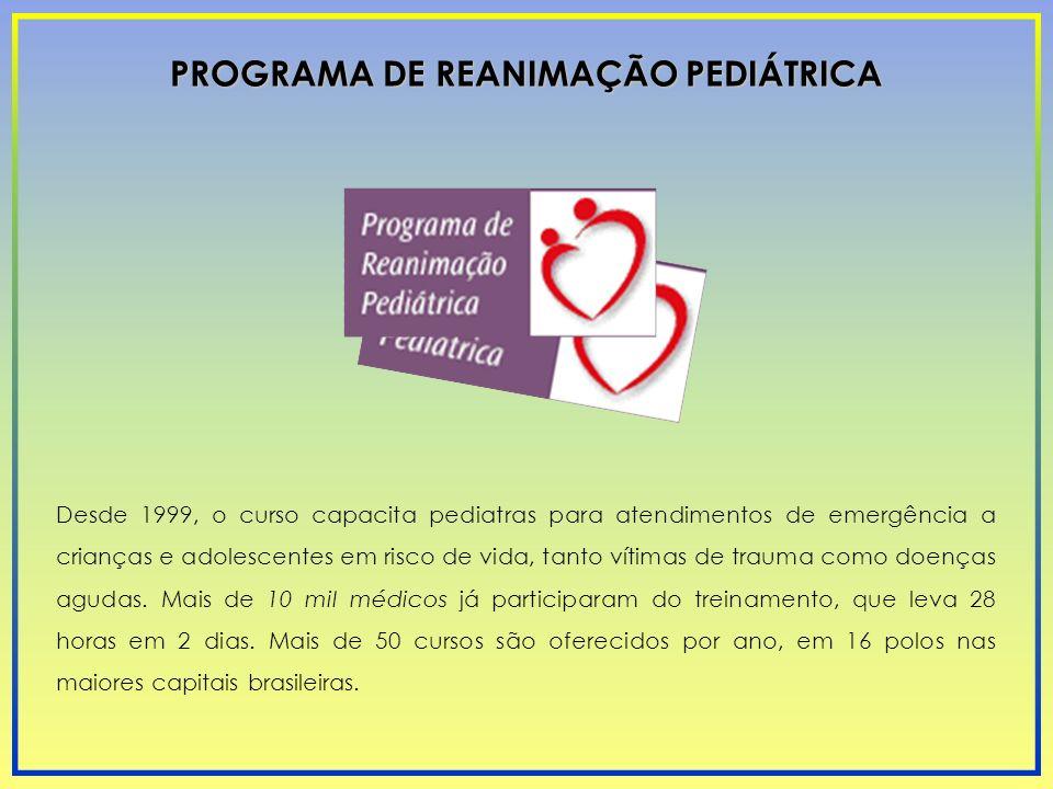 PROGRAMA DE REANIMAÇÃO PEDIÁTRICA